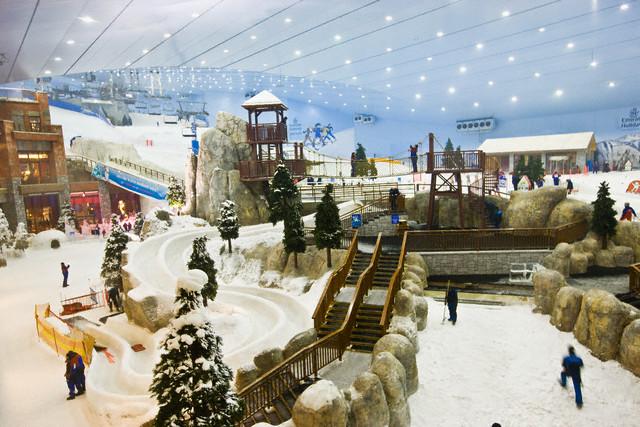 покататься на горных лыжах в Дубае?