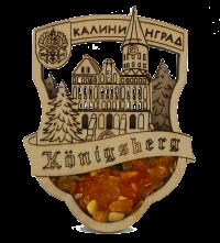 Янтарная пудра, Кенигсбергский марципан - что еще привезти из Калининграда в подарок?