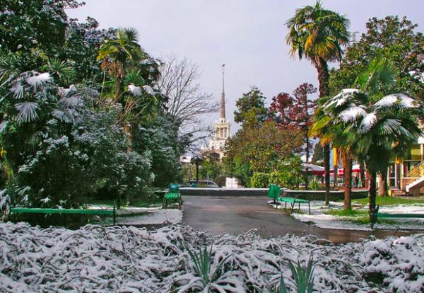 Какая погода в декабре?