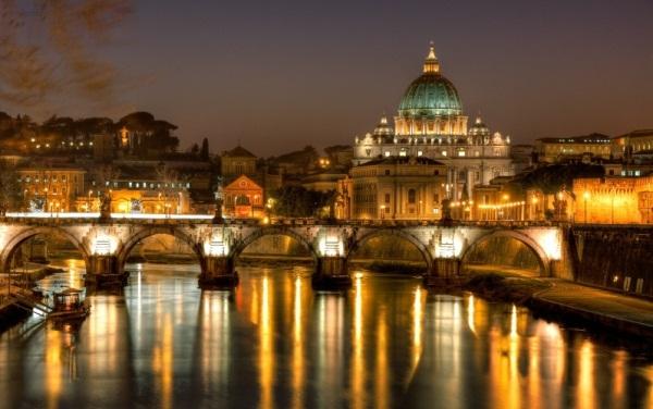 Самолеты каких авиакомпаний летают в Рим (Италию)?