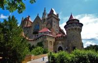 Замки Австрии Лихтенштейн, Гохостервитц и Хоэнверфен: уникальная история и архитектура