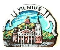 Тисячу чортів, бурштинового янгола і мидусщо ще привезти з Вільнюса в подар ...