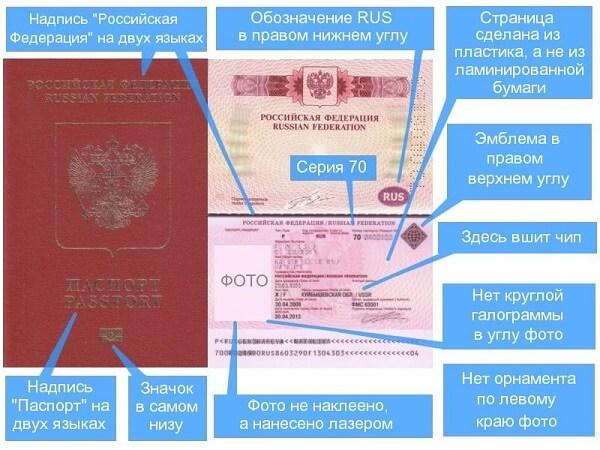 как выглядит заграничный паспорт нового образца?