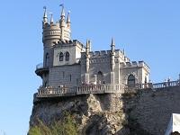 Ласточкино гнездо в Крыму: где находится на карте и фото знаменитого замка внутри