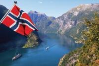 Родина викингов - Норвегия на карте мира