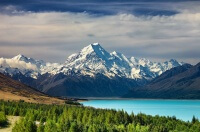 Страна вулканов - Новая Зеландия на карте мира