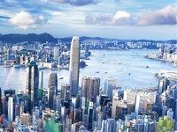 Динамичный Гонконг на карте мира