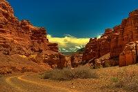 Загадочный Чарынский каньон в Алма-Ате