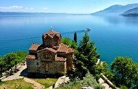 Живописная Македония на карте мира