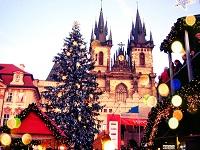 Рождественская Прага - погода в январе