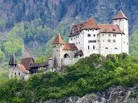 Лихтенштейн - расположение на карте
