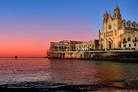 Непостоянство погоды на Мальте в феврале