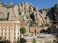 Святыня Испании - гора Монтсеррат