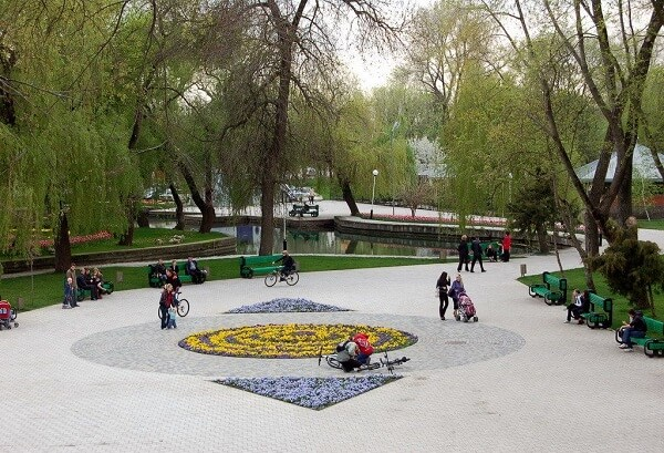 бесплатное посещение Городского сада