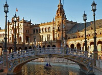 Температура воздуха и воды в Испании по месяцам