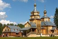 Монастырь Никандрова пустынь в Псковской области