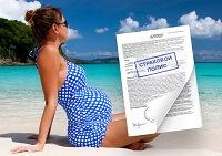 Страховка для беременных - как получить защиту при выезде за границу?