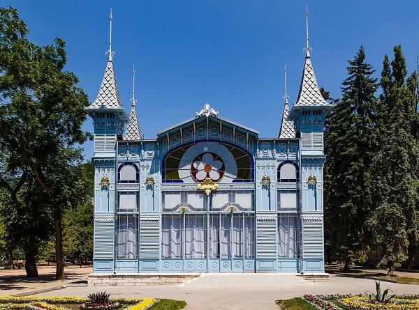 архитектура Лермонтовской галереи