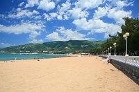 Песчаные и галечные пляжи Геленджика