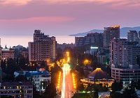 самый длинный город в России