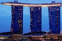 Отель с бассейном на крыше и другие гостиницы Сингапура
