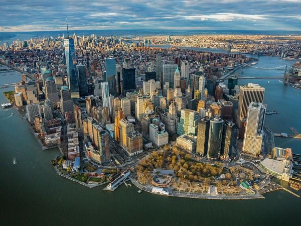 крупный населенный пункт Нью-Йорк