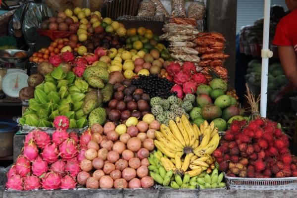 какие фрукты созревают?