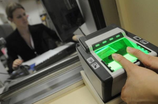 биометрические данные для типа C