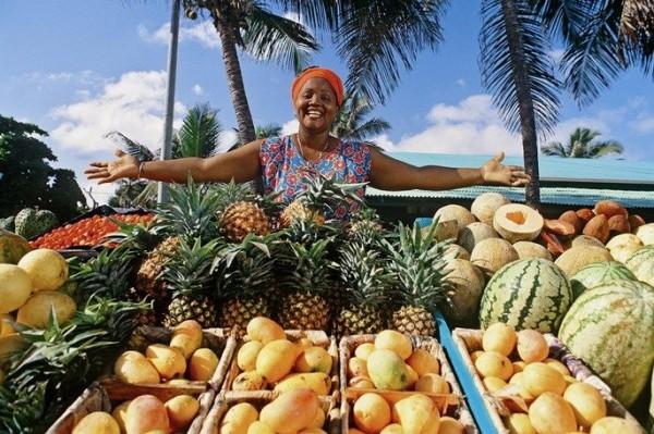 какие фрукты продаются?
