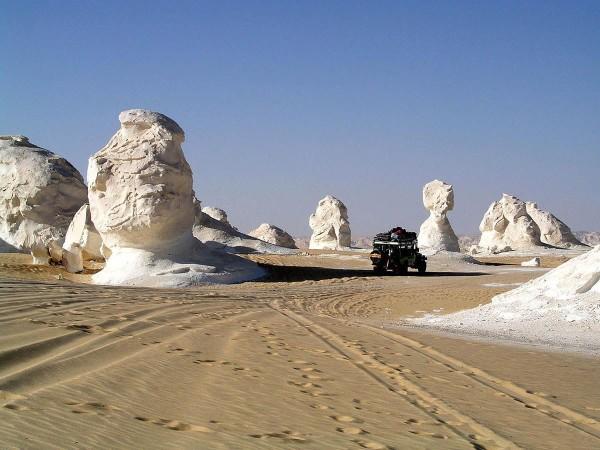 кристальные горы в Египте