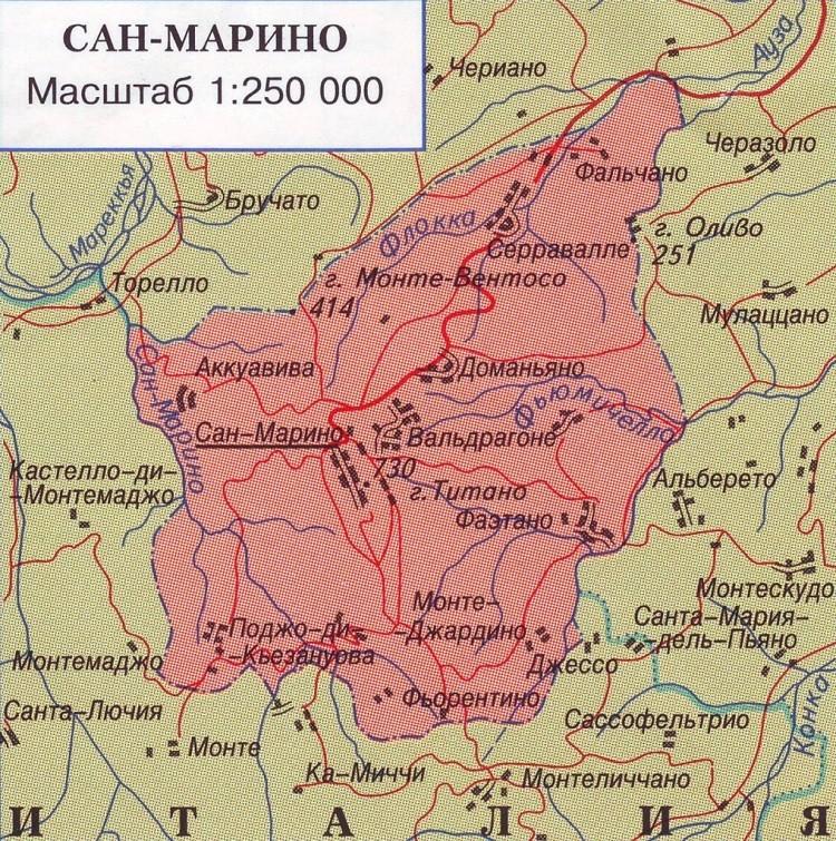 государство на карте