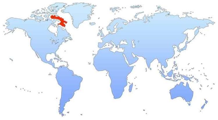 остров на карте мира