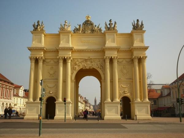 памятные Бранденбургские ворота