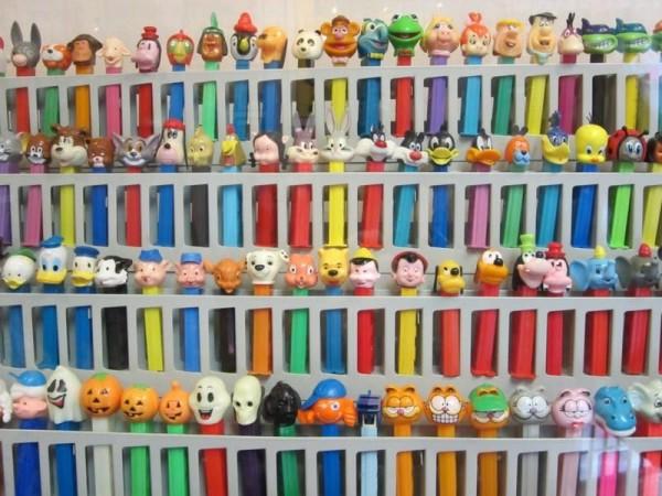 коллекция игрушек PEZ в Соединенных Штатах
