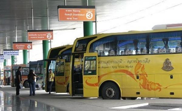 отправление с автовокзала Moh Chit