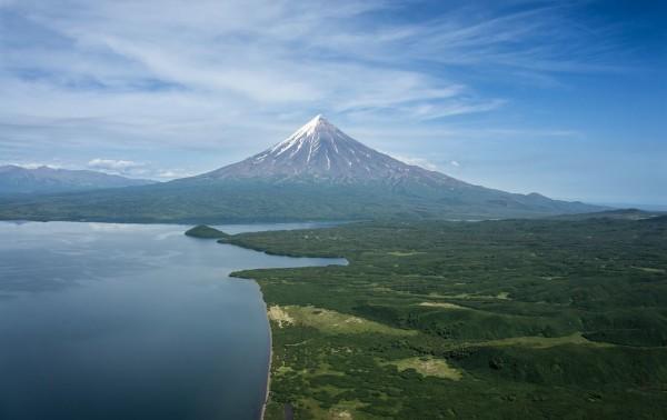 интересные природные вулканы Камчатки