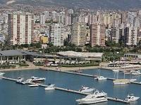 Современный мегаполис в Турции - город Мерсин