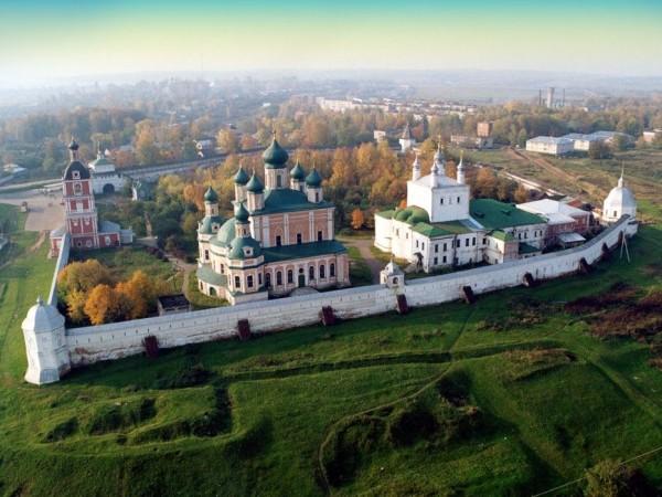 легендарный Горицкий монастырь