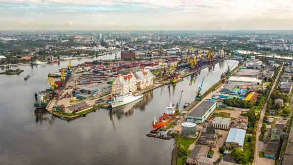 морские ворота Калининграда
