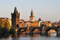 Погода в каменной Праге в июне