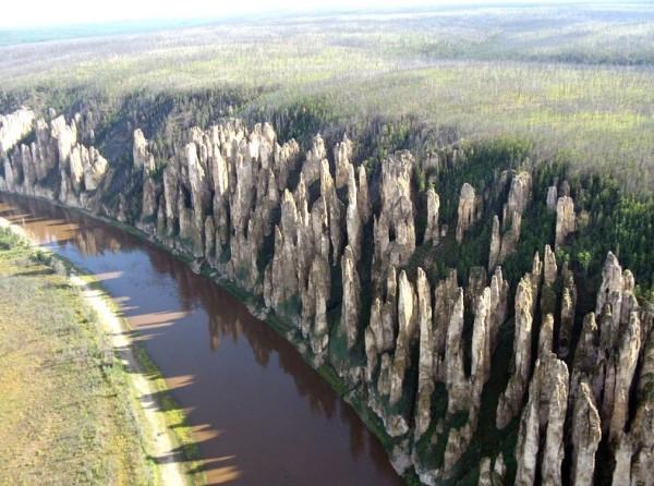 Красноярские Столбы в Сибири