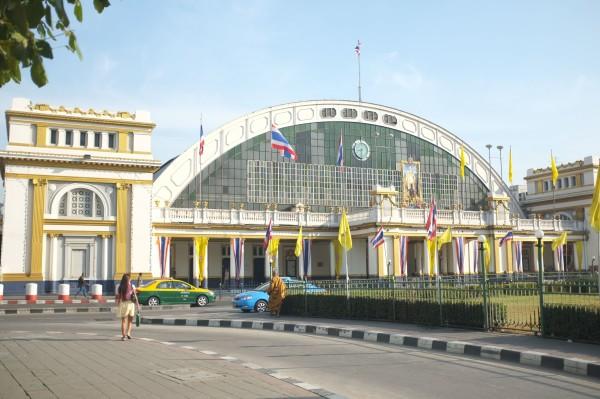 путь от аэровокзала до Hua Lampong