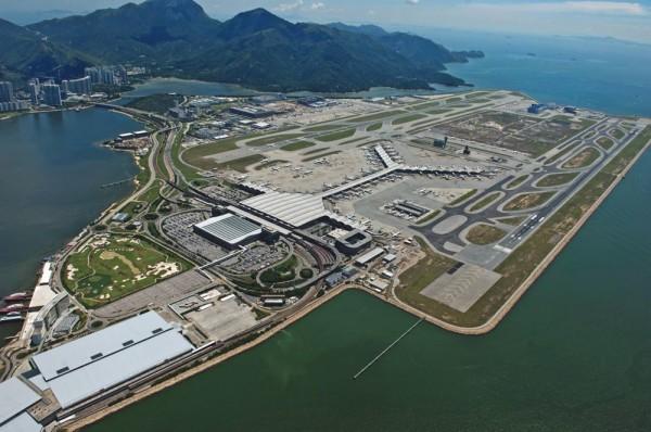 популярный авиатерминал Гонконга