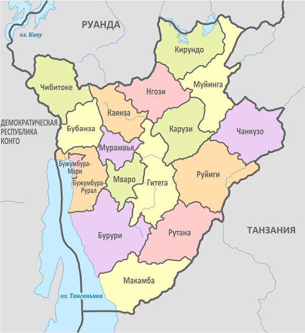 территориальное деление