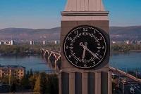 Москва - Красноярск: разница во времени