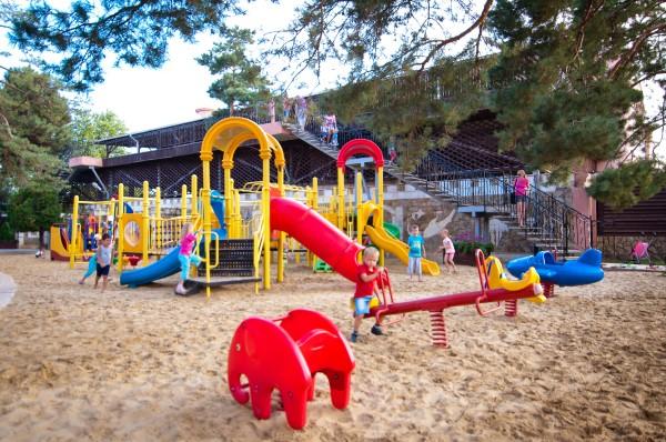 детская площадка в Rivera Club