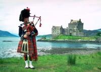 Шотландия на карте мира