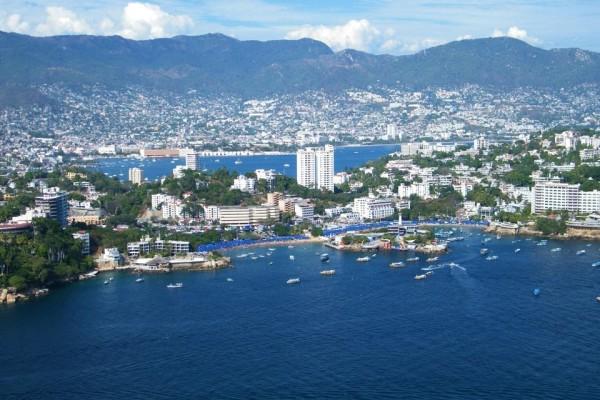 вид на Акапулько