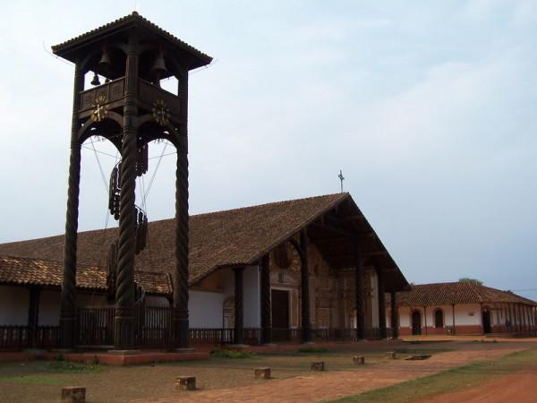 строения иезуитских миссий