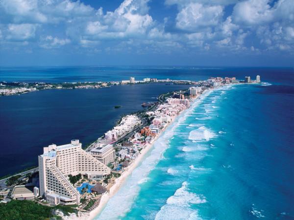 зона отдыха в Канкуне